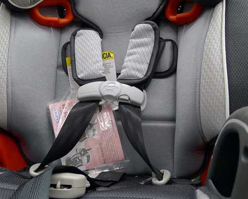 Five Point Harness Car Seat